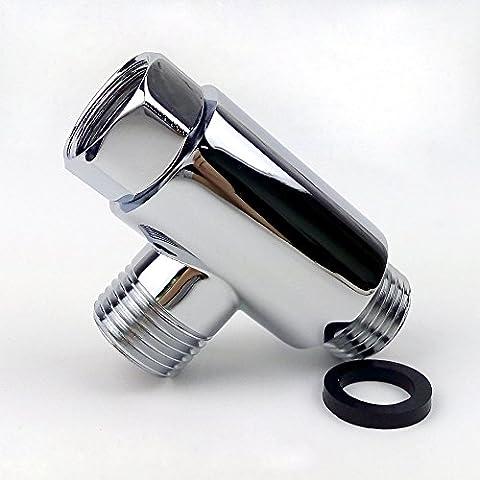MINGOR SOLID BRASS Round Shape 3-Way Diverter All 1/2