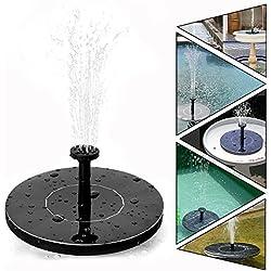 Fuentes Solares Para Jardin Agua Funciona - Bomba De Agua 7V 1.4W Fuentes Solares Para Jardin Decorativas - Haoxuan (Fuentes Solares)