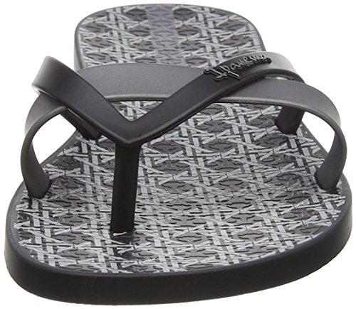 Ipanema Damen Silk Ii Sandalen Nero (Black/Grey)