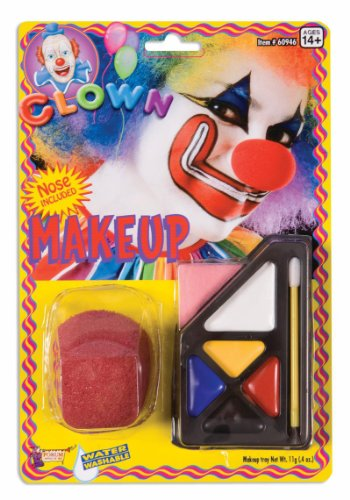 Circus Clown Make Up Costume Kit (Clown Kit)