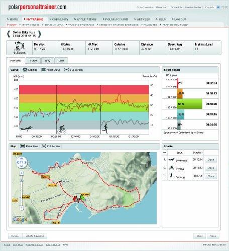 POLAR Herzfrequenzmessgerät RCX5 Multi GPS - 7
