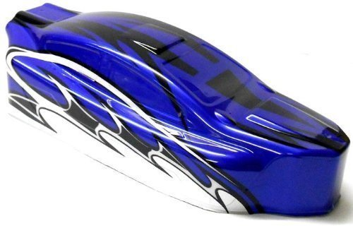 BS803-003 1/8 Nitro RC Buggy Body Cover Shell Blau Uncut -
