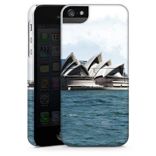 Apple iPhone 6 Housse Étui Silicone Coque Protection Sydney Australie Opéra CasStandup blanc