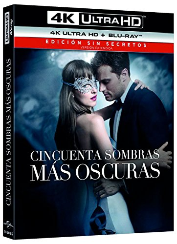 Fifty Shades Darker (CINCUENTA SOMBRAS MÁS OSCURAS - 4K UHD + BLU RAY -, Spain Import, see details for languages)
