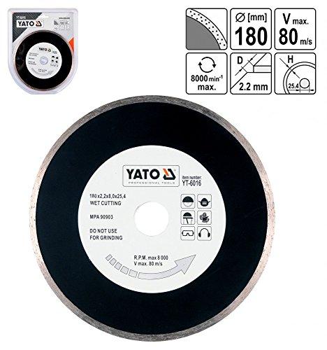Yato YT Ring kontinuierliche Diamant Disc 200mm ist (Amazon Diamant Ringe)