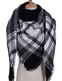 AFBLR Col écharpe châle Cachemire automne et hiver écharpe chaude femme  plaid épais grande ... 91eb3f102fd
