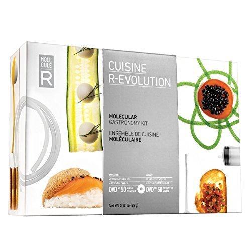 Molecule-R Cuisine R-Evolution - Utensili per cucina molecolare, con stampo in silicone