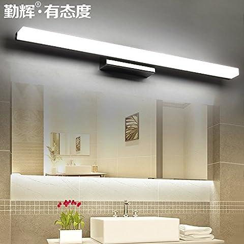 Shining LED specchio del bagno anteriore lampada da parete moderna Minimalista Luci, salute Armadietto da bagno Vanity Mirror, elegante lampade 40Cm White Light