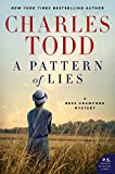 Front cover for the book A Pattern of Lies by Charles Todd