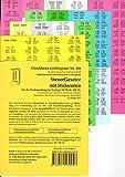 SteuerGesetze Griffregister mit Stichworten Nr. 258 (2017/2018): 198 selbstklebende und farbig bedruckte Griffregister für die Steuergesetze, 189.EL