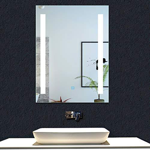 AICA SANITARIOS Espejo baño 50x70 cm Espejo led