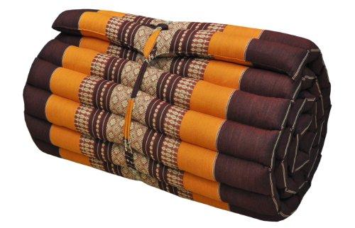 Materasso tailandese (larg.50-55 cm) cuscino, meditazione, yoga, ginnastica, spiaggia, giardino, fabbricadt en Tailandia (81113)