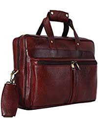 Hammonds Flycatcher Leather Brown Laptop Bag