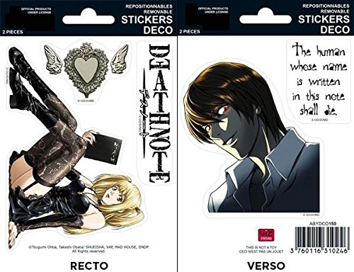 ABYstyle - DEATH NOTE - Stickers - 16x11cm - Misa/ Raito