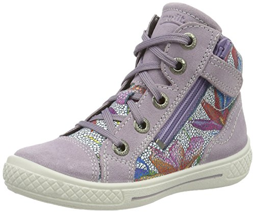 Superfit Tensy Surround Mädchen Hohe Sneakers Violett (Lila Kombi 77)