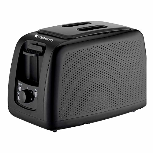 Wonderchef Regalia Monochrome 63152269 780-Watt Toaster (Black)