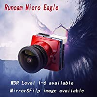 RunCam Micro Eagle 1/1.8 CMOS Sensor FPV Camera Global WDR 16???9/4???3 PAL/NTSC switchable Mirror & Flip image available for Multicopter