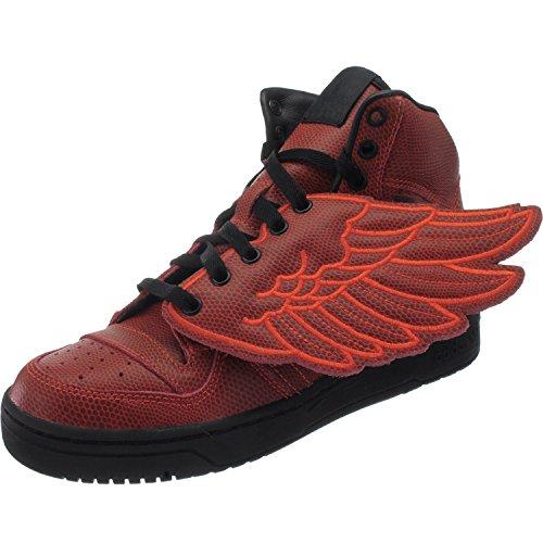 Adidas JS Wings BBall S77803 Herren Sneaker / Freizeitschuhe / Basketballboots Rot 38 2/3 (Adidas Js Wings)