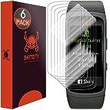 Skinomi TechSkin - Schutzfolie für Samsung Gear Fit2 - deckt den gesamten Bildschirm, 6er Pack