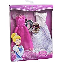 Disney Princess Y5103 Cinderella Fashions Outfit 2-Pack - Doll Not Included