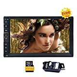 8GB Karte Universal-2din Auto MP5 Dash GPS Navigation 7 'LCD-Digital-Screen-Auto-Stereo-HD 800 * 480...