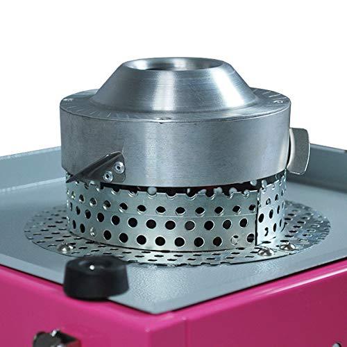 Helo Zuckerwattemaschine aus Edelstahl - 6