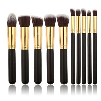 Elefant XU? Make-up-Pinsel 12Stück Professionelle Kosmetik Make-up Pinsel Set mit Make Up Pinsel Tasche von Shenzhen Elephant Xu Technology Co. Ltd - TapetenShop