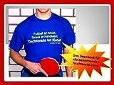 SPORT T-Shirt Tischtennis ist Kunst !