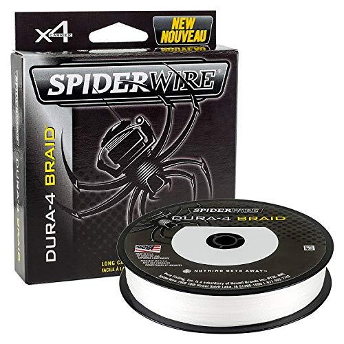 Spiderwire dura-4 FLECHTLEINE 300m lichtdurchlässig 99lb/45kg 0.40mm