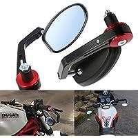 Vize specchietti retrovisori specchio posteriore universale specchio moto