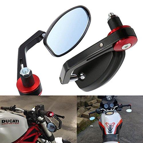 Vize retrovisores laterales espejo trasera universal Espejo moto