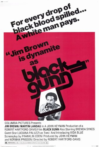 Black Gunn Plakat Movie Poster (27 x 40 Inches - 69cm x 102cm) (1972)