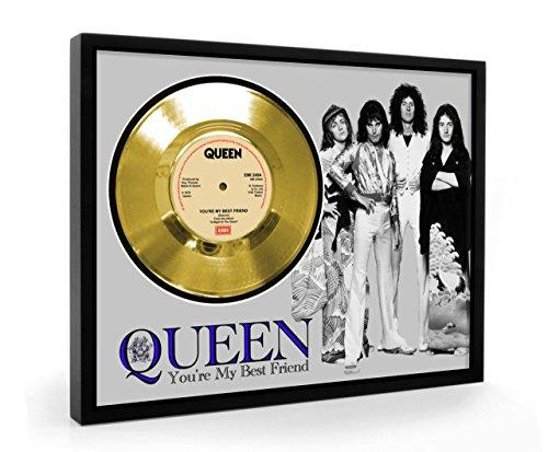Queen You're My Best Friend Framed Disco de Oro Display Vinyl (C1)