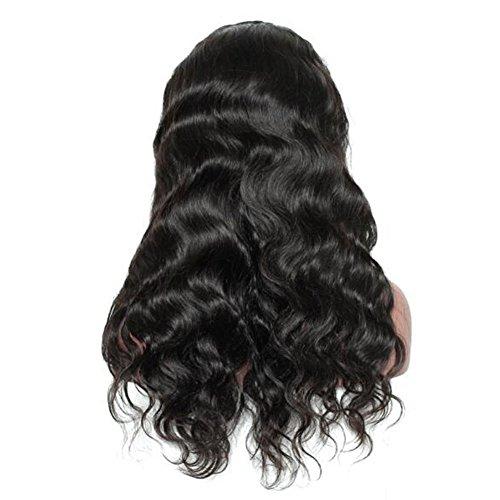 isefrauen-brasilianische Jungfrau-24inch Menschenhaar-Körper-Wellen-Spitze-Frontseiten-Perücke Glueless Spitze-Perücke-Haar-Bündel-Zusätze ()