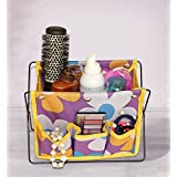 VelKro Hot Sale Fashion Mini Foldable Pen Pencil Organizer Storage Bag Fabric Cosmetic Stand Box Case - Multi Color (1 Pc) (Design And Color May very)