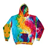 Colortone - Unisex Hoodie / Multi Rainbow, S