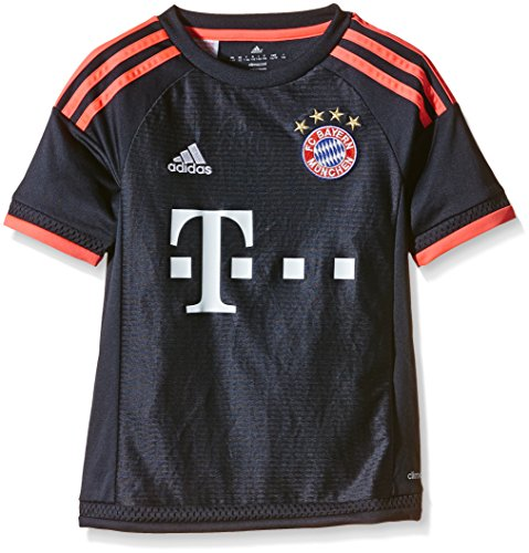 adidas Jungen Fußballtrikot FC Bayern München UCL Replica, night navy/flash red, 176, S08661