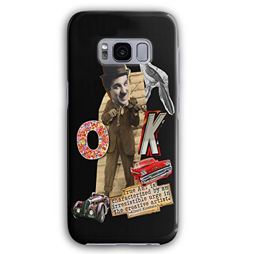 Charlie Chaplin Cru 3D Galaxy S8 Étui Pour | Wellcoda