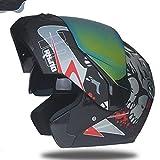 W,a,n Jeder kann sich Motorradhelme, modulare Flip-Helme, Doppel-Sonnenschutz-Rennhelme, hohe Qualität, s, 16 leisten