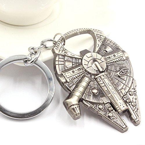 Preisvergleich Produktbild ETGtek Star Wars Raumschiff Ventil Metall Schlüsselanhänger Keyring Spaceship Bier Flaschenöffner