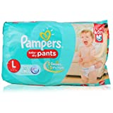 #9: Pampers Baby Dry Pants - Large, 52 Pieces Pack