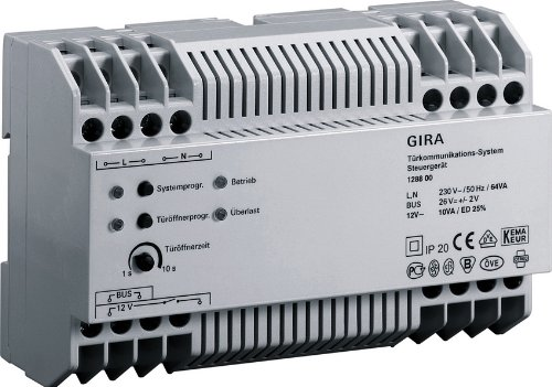 Preisvergleich Produktbild Gira 128800 Steuergerät Video REG
