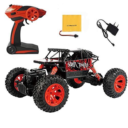 Nlatas RC Autos Off-Road Fahrzeug 2,4 GHz 4WD High Speed 1:18 Funkfernsteuerung Rennwagen Rock Crawler Auto