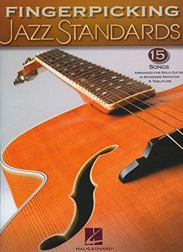 Fingerpicking Jazz Standards (Jazz Guitar Chord Melody Solos)