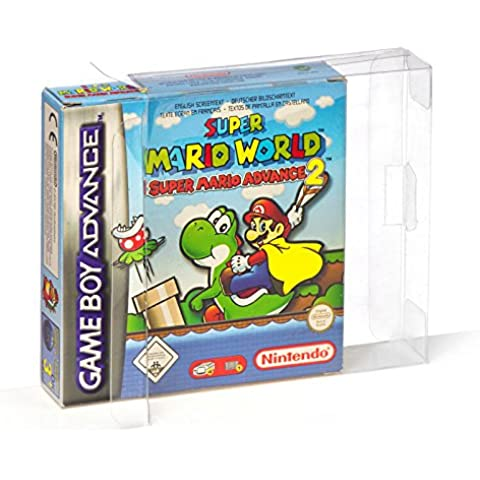 10 Gameboy Classic/Color/Advance cajas/fundas protectoras para envase original BOX