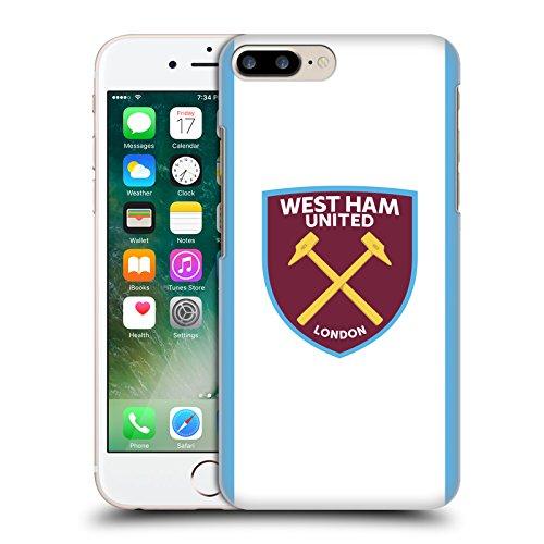 Ufficiale West Ham United FC Fuori Casa 2016/17 Kit Crest Cover Retro Rigida per Apple iPhone X Casa