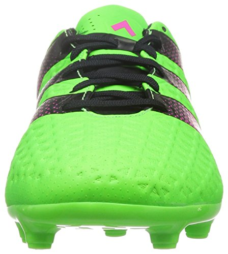 adidas Herren Ace 16.3 Fg/Ag Fußballschuhe Grün / Pink / Schwarz (Versol / Rosimp / Negbas)
