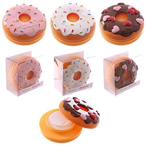 Vanilla Icing Donut Scented Fun Novelty Moisturiser Hand Cream White