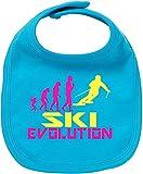 EZYshirt® Ski Evolution Baby Lätzchen Halstuch