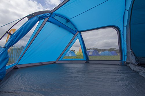 Vango Venture 450 Four Man Tunnel Tent – River Blue